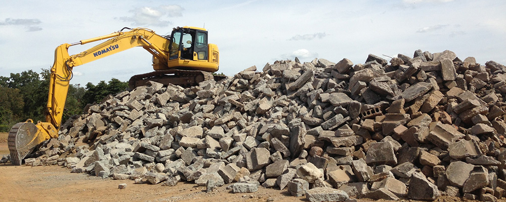 Green Rock Recycling | Quality Mulch, Concrete & Recycled